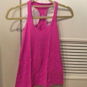 Lululemon pink shirt